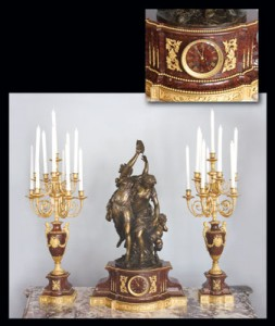 Clock Garniture