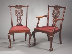 Edwardian Mahogany Dining Chairs