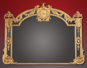 19th Century English Giltwood Mirror