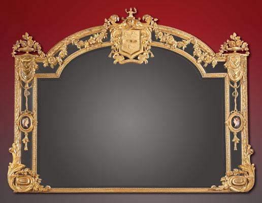 19th Century English Giltwood Mirror