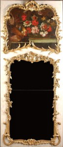 Giltwood French Louis XV Trumeaux
