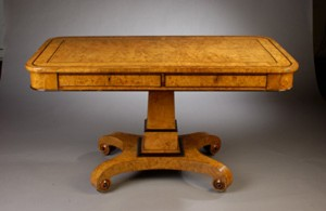 Art Deco Period Library Table