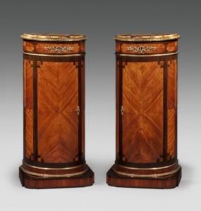 Demi-Lune Cabinets / Pedestals