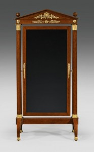 First Empire Cheval Mirror