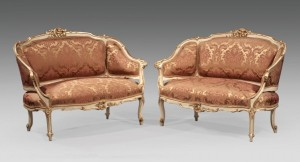 Louis XV Style Canapés