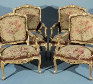 French Salon Suite Chairs