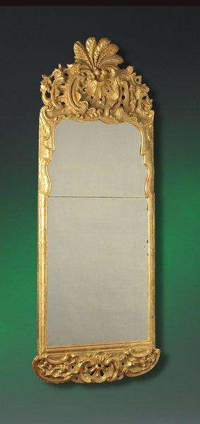 19th Century Queen Anne Style Giltwood Pier Mirror