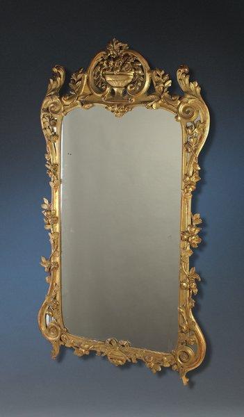 19th Regence Style Giltwood Mirror