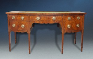 George III Sideboard with Delicate Inlays of Satinwood