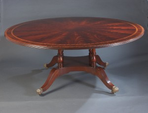 Six Foot Round Dining Table