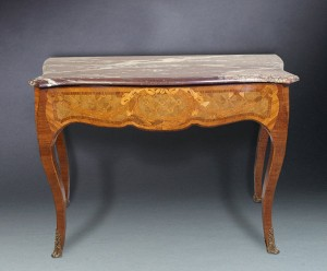 Louis XV Style Rosewood Console