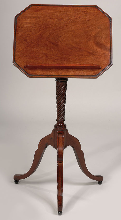 English Regency Period Reading Stand