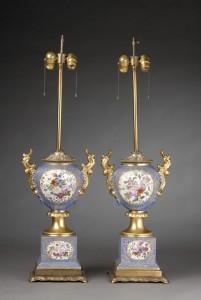 Old Paris Lamps