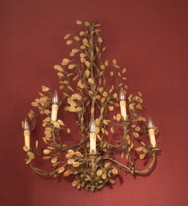 French Wrought Iron Sconces