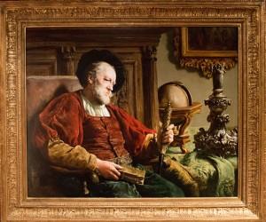 A Man Contemplating His Life Travels